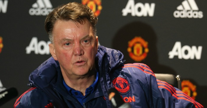 Louis van Gaal: Faces the media on Thursday