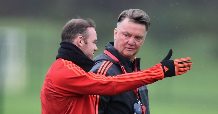 Louis van Gaal: Manager under scrutiny at Old Trafford