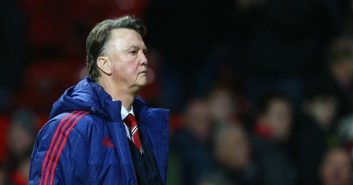 Louis van Gaal: Manager under pressure from some fans