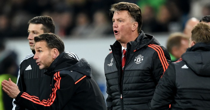 Louis van Gaal: Manager's side crashed out of Champions League