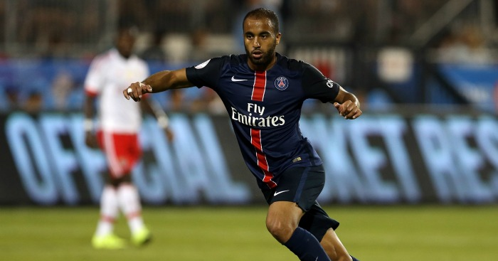 Lucas Moura: Forward has been linked with Liverpool and Arsenal