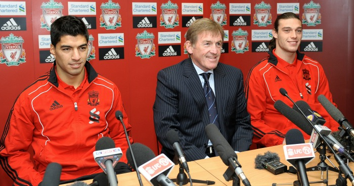 Luis Suarez, Kenny Dalglish, Andy Carroll: One out of two ain't bad