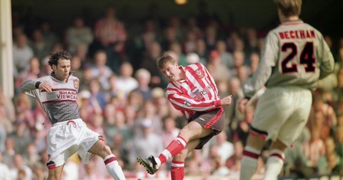 Man United's grey dayat Southampton in 1996