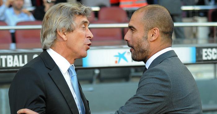 Manuel Pellegrini: Drops hint over Pep Guardiola future