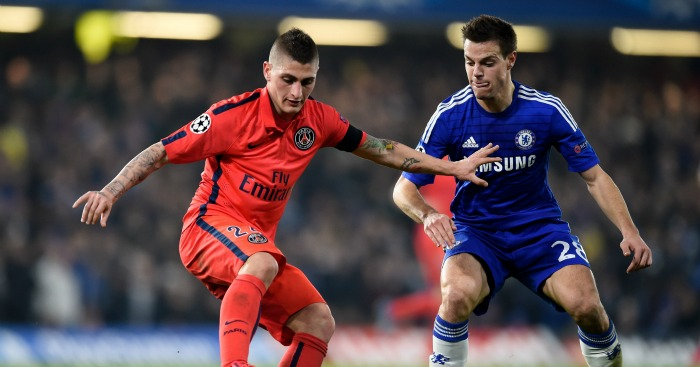 Marco Verratti: Midfielder would help solve Chelsea problems