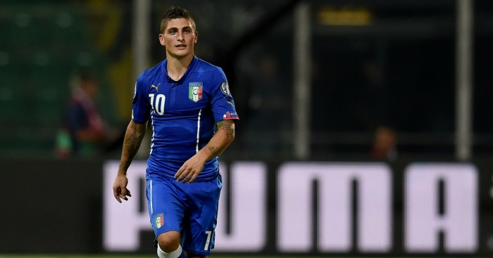 Marco Verratti: PSG Midfielder has 15 caps for Italy