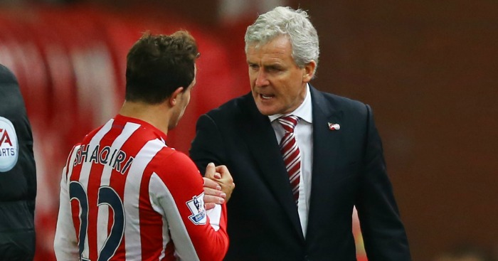 Mark Hughes: Getting the best out of Xherdan Shaqiri at Stoke