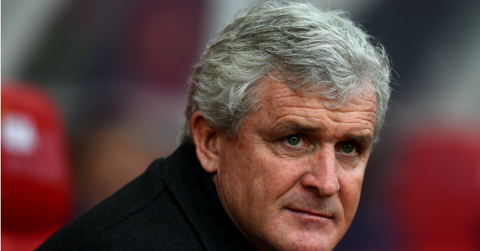 Mark Hughes: Manager delighted with Stoke City display