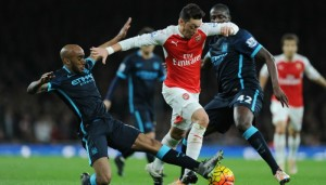 Mesut Ozil: Arsenal's star man against Manchester City