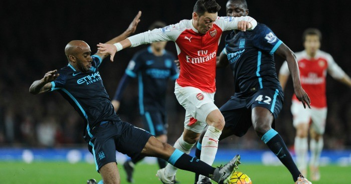 Mesut Ozil: In top form for Arsenal this season