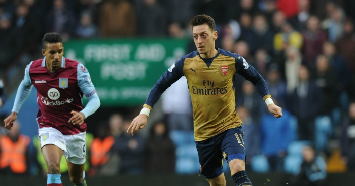 Mesut Ozil: Playmaker has racked up 13 assists this season