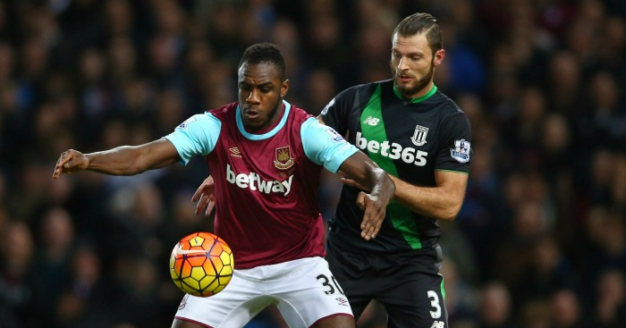 Michail Antonio: Impressed for West Ham against Stoke City