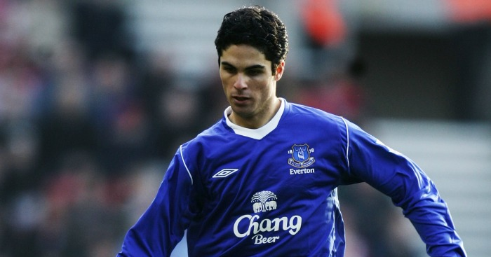 Mikel Areta: Joined Everton in January 2005