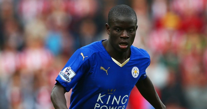 N'Golo Kante: Has enjoyed a stellar season for Foxes