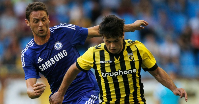 Chelsea in action against Vitesse this summer