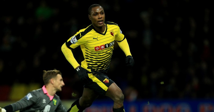 Odion Ighalo: Refusing to set targets this season