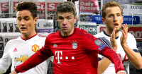 Ander Herrera, Thomas Muller & Harry Kane in the news