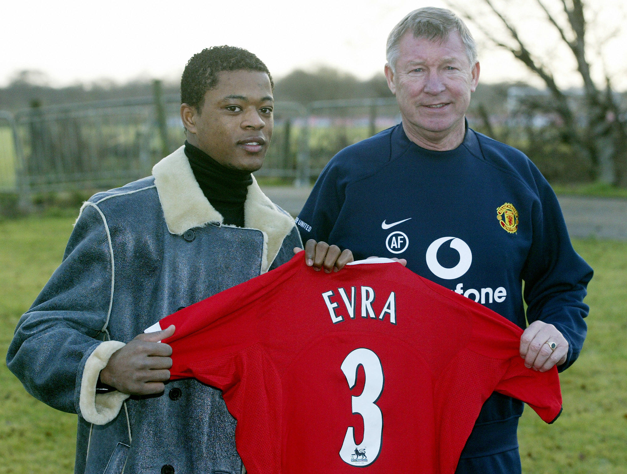 Patrice Evra: Joined Manchester United in January 2006