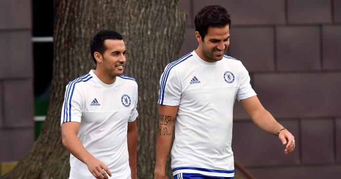 Pedro: Says Fabregas can come through tough period