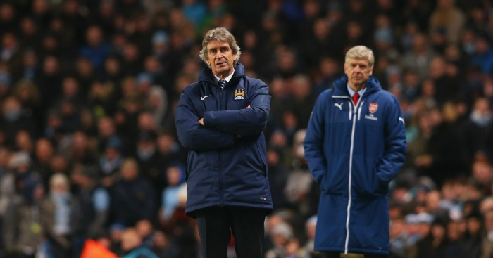 Pellegrini & Wenger: Managers lock horns on Monday
