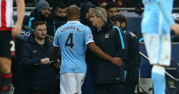 Manuel Pellegrini: Won't feature against PSG