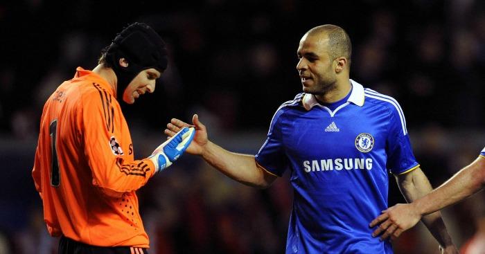Petr Cech Alex Chelsea