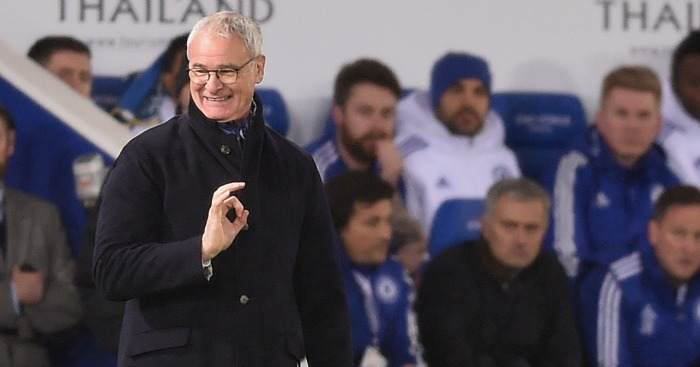 Claudio Ranieri: Enjoying the win over Chelsea