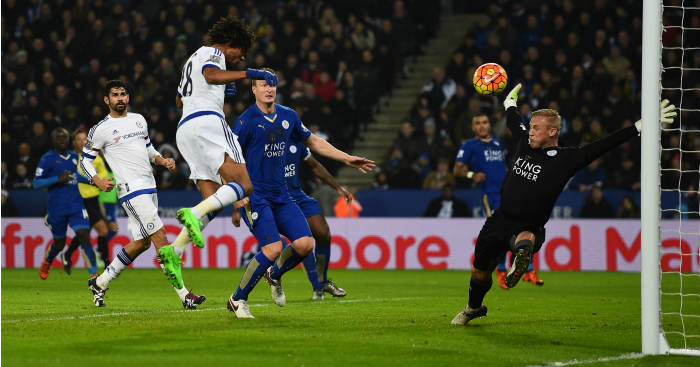 Loic Remy: Heads in Chelsea's goal at Leicester