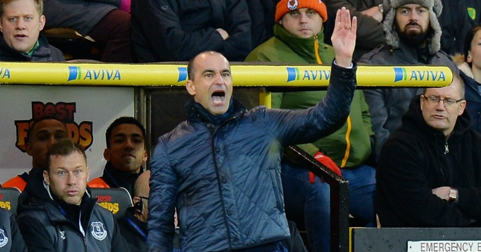 Roberto Martinez: Wants Everton to be more ruthless