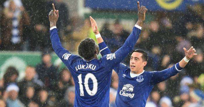 Romelu Lukaku: Has Vardy's record in his sights