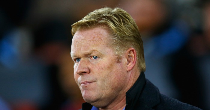 Ronald Koeman: Felt performance deserved better result