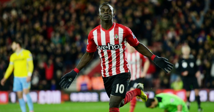 Sadio Mane: Slipped through the net
