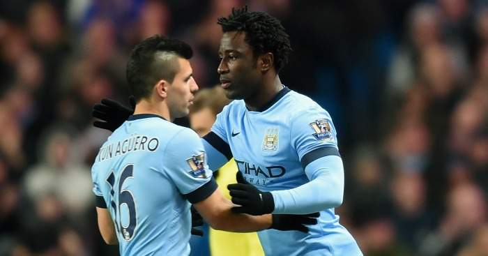 Wilfried Bony: Playing second fiddle to Sergio Aguero