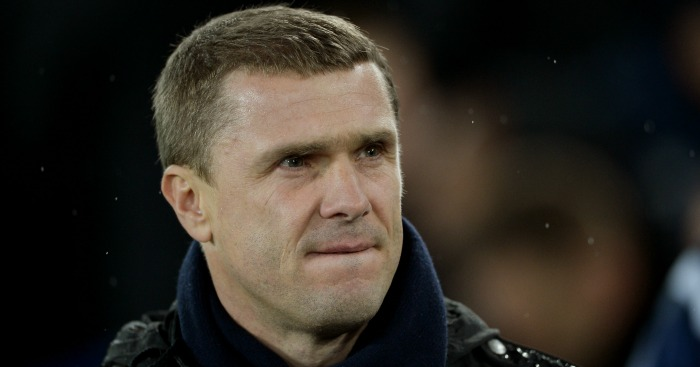 Serhiy Rebrov: Dynamo drawn to face Manchester City
