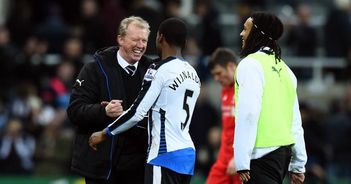 Steve McClaren: Congratulates Georginio Wijnaldum after Newcastle United's win over Liverpool