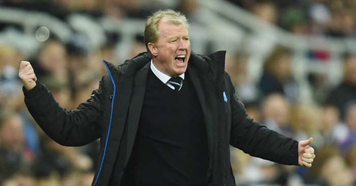 Steve McClaren: Fighting his corner at Newcastle