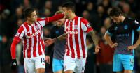 Ibrahim Afellay: Celebrates Stoke opener