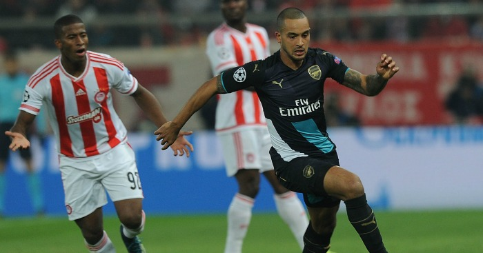 Theo Walcott: Forward unconcerned by potential opponents