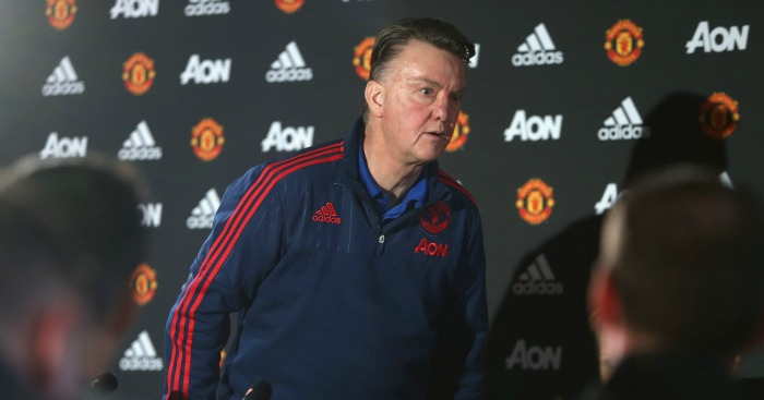 Louis van Gaal: Doesn't feel side are too far off