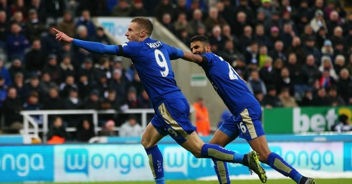 Jamie Vardy and Riyad Mahrez: Superb seasons for Leicester City