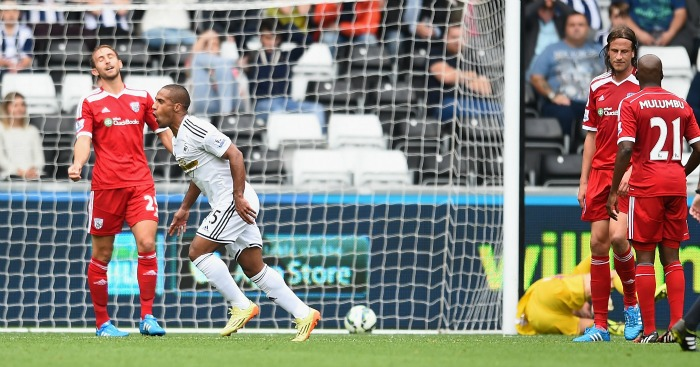 Wayne Routledge: Scored for Swansea City against West Brom last season