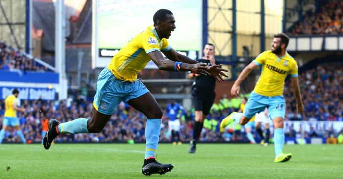Yannick Bolasie: Scored for Crystal Palace at Everton last season