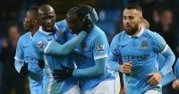 Yaya Toure: Celebrates Man City's late winner against Swansea