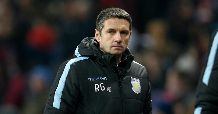 Remi Garde: Unhappy with first half performance