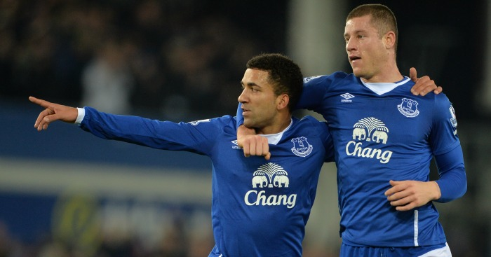 Aaron Lennon: In fine form for Everton
