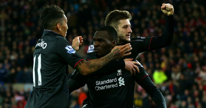 Adam Lallana: Celebrates Liverpool's win at Stoke
