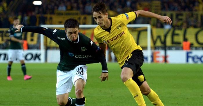 Adnan Januzaj: Forward yet to start a Bundesliga match