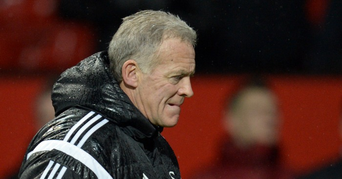 Alan Curtis: Manager feels side deserved a result at Old Trafford