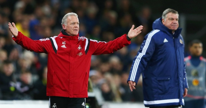 Alan Curtis: Has discussed transfers with Swansea City chairman