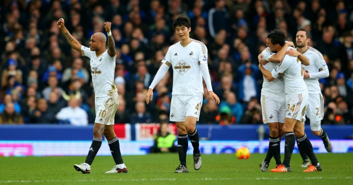 Andre Ayew: Scored Swansea City's winning goal at Everton